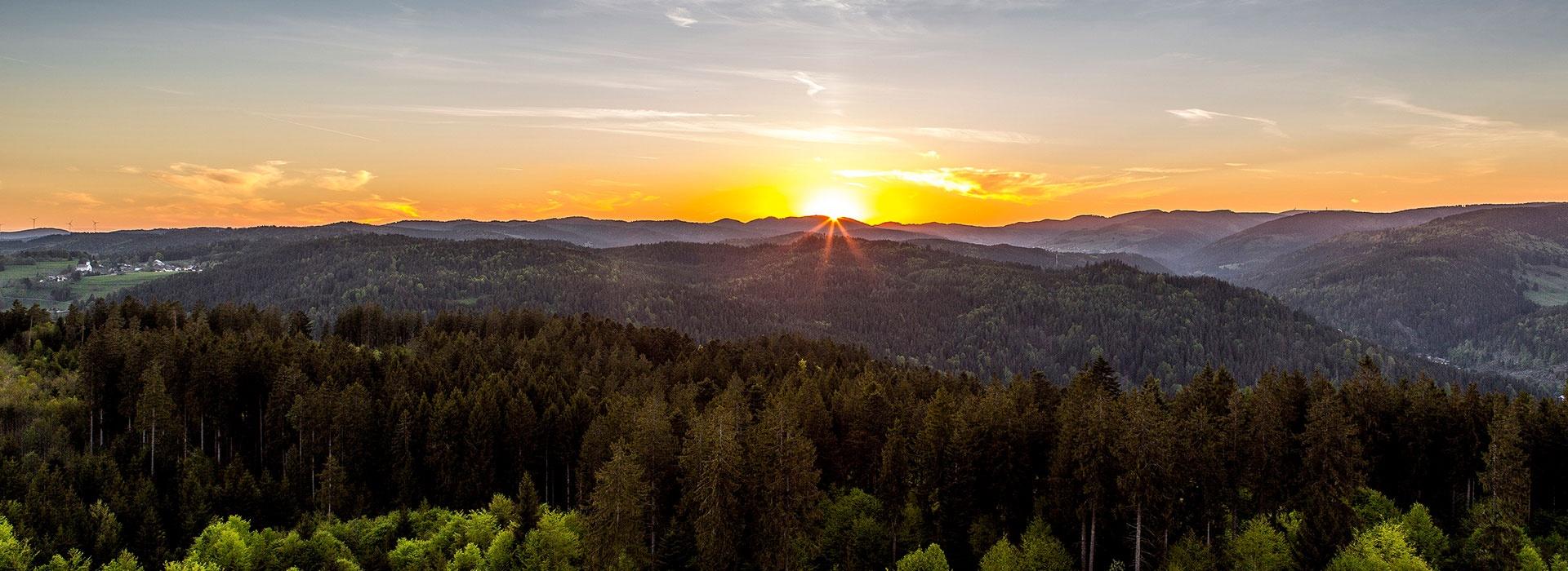 Berge Um Freiburg Karte.Region Aussichtsberge Im Schwarzwald Die 10 Hochsten